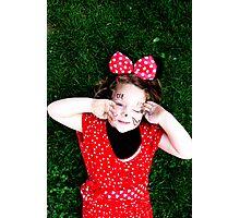 Minnie Love Photographic Print