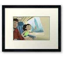 Gabriella Gets a New Home Framed Print