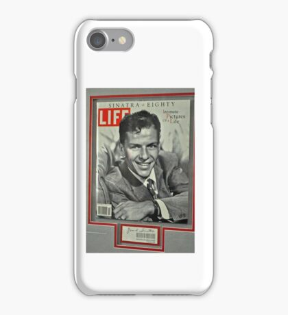 FRANK SINATRA LIFE COVER  iPhone Case/Skin