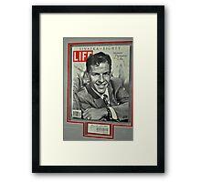 FRANK SINATRA LIFE COVER  Framed Print