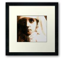 Maybe There's A God Above Framed Print