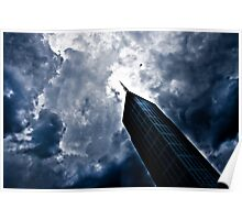 Cityscape Building Poster