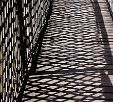 Suspended Bridge shadow Patterns by phil decocco