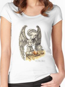 Onion Soup Women's Fitted Scoop T-Shirt