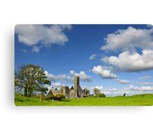 Quin Abbey, County Clare, Ireland Canvas Print