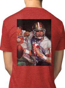 JOE MONTANA SAN FRANCISCO #16 Tri-blend T-Shirt