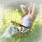 The Old Rocking Chair in Summer by raykirby