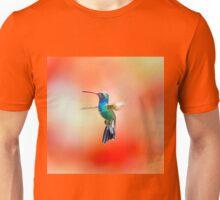 Broad Billed Humming, Part Of My Hummingbird Art Collection. Unisex T-Shirt