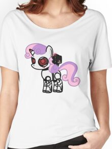My Little Portal - Corrupt Sweetie Belle Sentry Women's Relaxed Fit T-Shirt