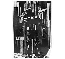 Robot Invader Poster