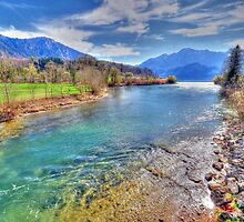 River Loisach HDR by Daidalos