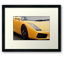 Chiselled Looks Framed Print