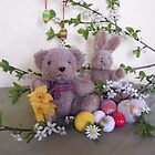 Teddy and the Easter-bunny by Heidi Mooney-Hill