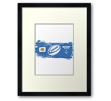 Uruguay Rugby World Cup Framed Print