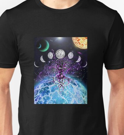 Space Tree of Life Unisex T-Shirt