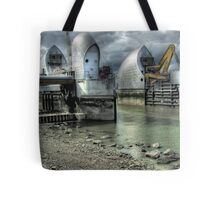 Open Barrier 9 - Thames Barrier in Greenwich Tote Bag