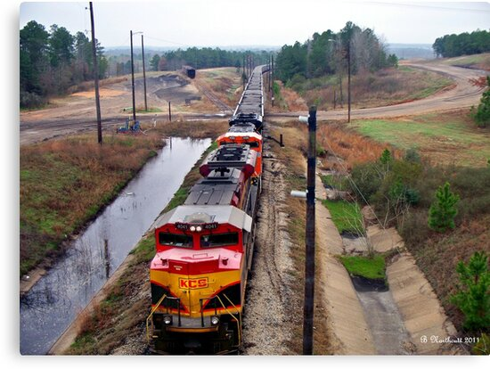 Lines And Curves - Locomotive Lines and Landscape Curves by Betty Northcutt