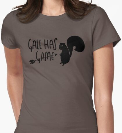 The Hunter Has Game Womens Fitted T-Shirt