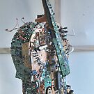 Displaced Cello. by - nawroski -