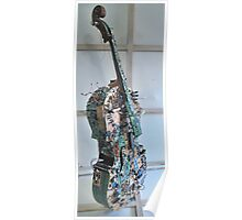 Displaced Cello. Poster