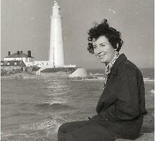 1960 St Mary's Lighthouse by Woodie