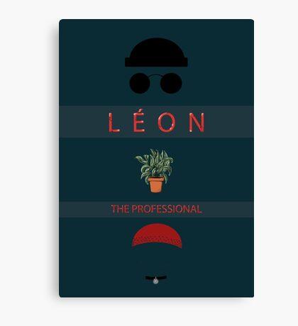 Léon :The Professional Canvas Print