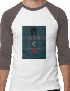 Léon :The Professional Men's Baseball ¾ T-Shirt
