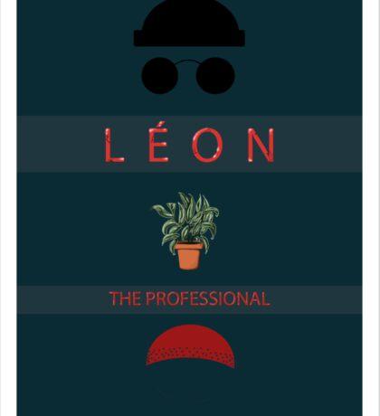 Léon :The Professional Sticker