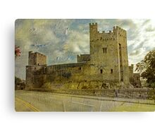 Cahir Castle, Co . Tipperary. Canvas Print