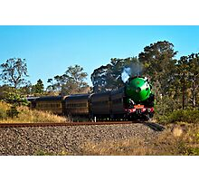 Steamin' on Down Photographic Print