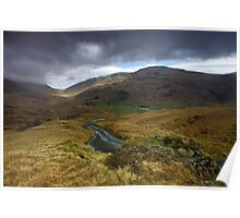 Wrynose to Hardknott Poster