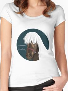 Lil Sebastian Women's Fitted Scoop T-Shirt