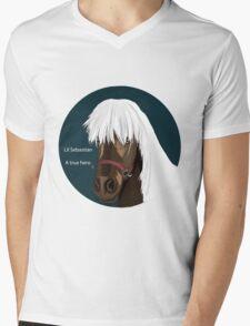 Lil Sebastian Mens V-Neck T-Shirt