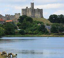 Warkworth Castle by Roger Hall