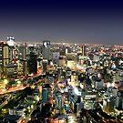 Osaka by Night by Bruno Beach