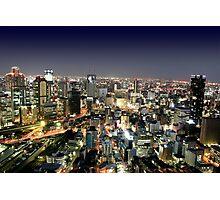 Osaka by Night Photographic Print