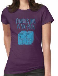 The Swimmer Has a Six-Pack (Light Blue) T-Shirt