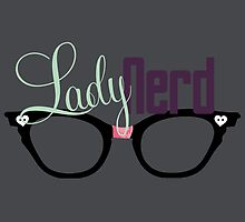 Proud LadyNerd | Black Glasses by 4everYA