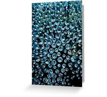 Blue Stones Greeting Card