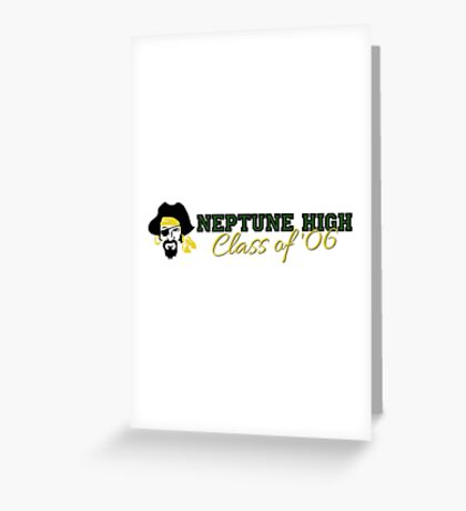 Neptune High Class of '06 Greeting Card