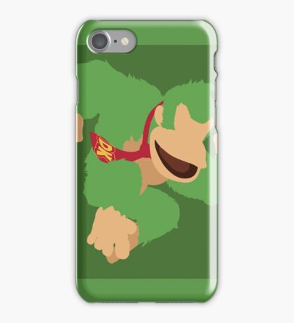 Donkey Kong (Green) - Super Smash Bros. iPhone Case/Skin