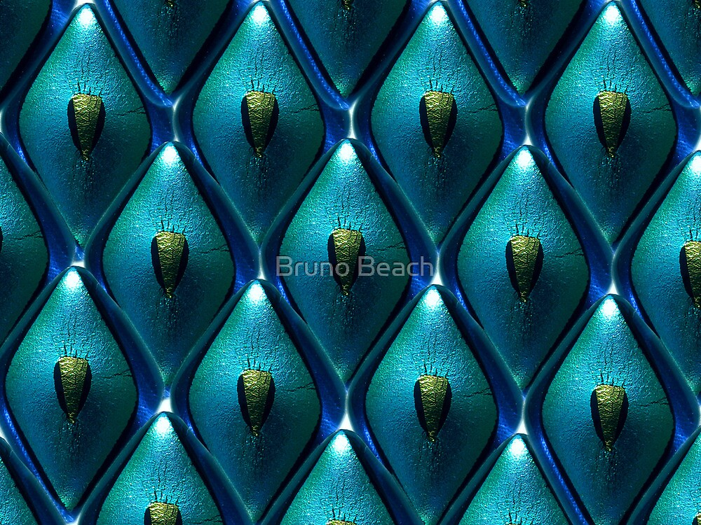 Abstract Background of jewel by Bruno Beach