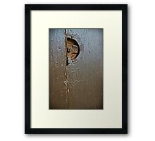 """""""Holding"""" Framed Print"""