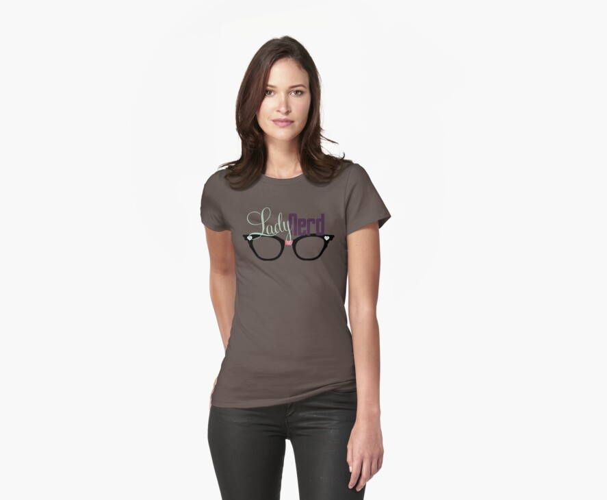 Proud LadyNerd   Black Glasses by 4everYA