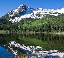Rockies Reflection by Mike Hendren