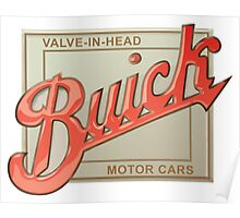 Buick valve in head vintage sign reproduction Poster