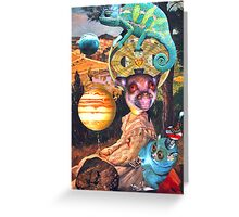 The Meteorite Spotter. Greeting Card