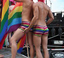 2 Gay males by Digital Editor .