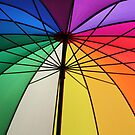 Gay Umbrella by Bruno Beach