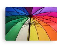 Gay Umbrella Canvas Print